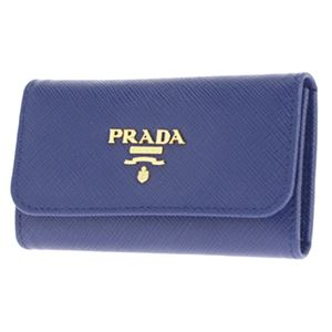 Prada (プラダ) 1PG222 S/ME/BLUETTE キーケース h02