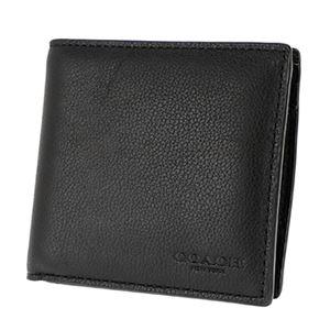 Coach (コーチ) F75003/BLK/1 二つ折り財布 h02