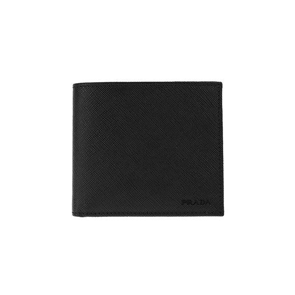 Prada (プラダ) 2MO738 SAFF/NER 二つ折り財布f00