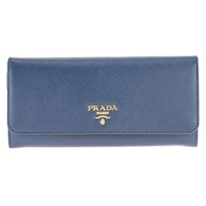 Prada (プラダ) 1MH132 S/ME/BLUETTE 長財布