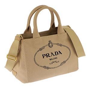 Prada (プラダ) 1BG439 CANAPA/CORDA 手提げバッグ
