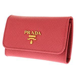 Prada (プラダ) 1PG222 S/ME/PEO キーケース h02