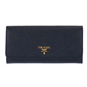Prada (プラダ) 1MH132 S/ME/BALTICO 長財布 h01