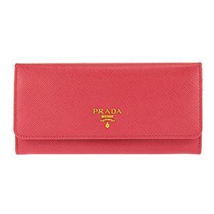 Prada (プラダ) 1MH132 S/ME/PEONIA 長財布