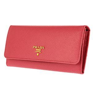 Prada (プラダ) 1MH132 S/ME/PEONIA 長財布 h02