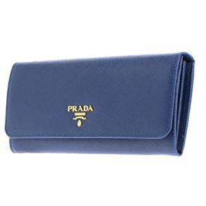 Prada (プラダ) 1M1132 S/ME/BLU 長財布 h02