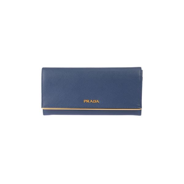 Prada (プラダ) 1M1132 S/ME-M/BLU 長財布f00