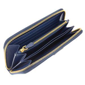 Prada(プラダ) 1ML506 S/TRIANGOLO/BLUETTE 長財布