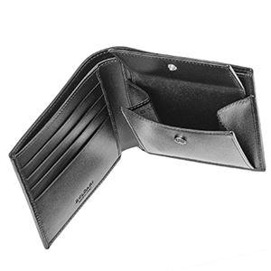Bvlgari(ブルガリ) 32581 CANVAS/BLK 二つ折り財布