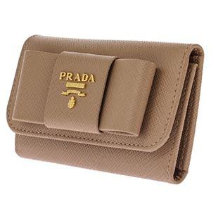 Prada(プラダ) 1PG222 S/FIOCCO/CAMMEO キーケース h02