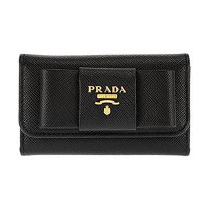 Prada(プラダ)1PG222S/FIOCCO/NERキーケース