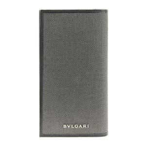 Bvlgari(ブルガリ) 32582 CANVAS/BLK 長財布 h01