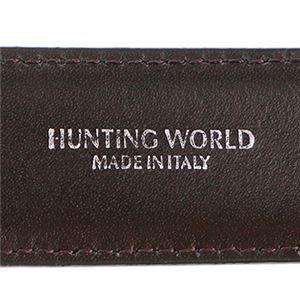 HUNTING WORLD(ハンティングワールド) 2127-230 BELTS/BK/BR ベルト 全長 125cm長さ調節 104.5~114.5cm f04