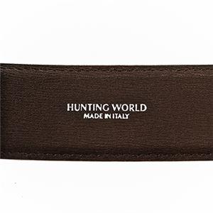 HUNTING WORLD (ハンティングワールド) 2133-230 BELTS/BK/BR ベルト 全長 127cm長さ調節 106~116cm