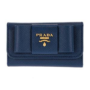 Prada (プラダ) 1PG222 S/FIOCCO/BLUETTE キーケース h01