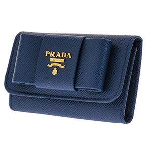 Prada (プラダ) 1PG222 S/FIOCCO/BLUETTE キーケース h02