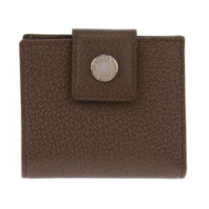 Bvlgari (ブルガリ) 22554 PIGSKIN/BRW 二つ折り財布 h01