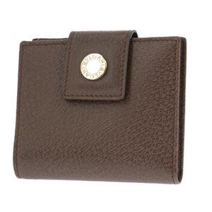 Bvlgari (ブルガリ) 22554 PIGSKIN/BRW 二つ折り財布 h02