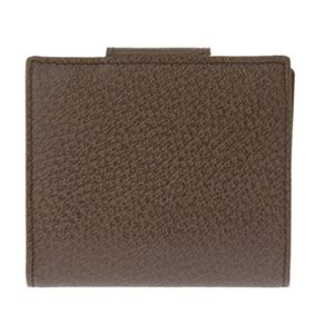 Bvlgari (ブルガリ) 22554 PIGSKIN/BRW 二つ折り財布 h03