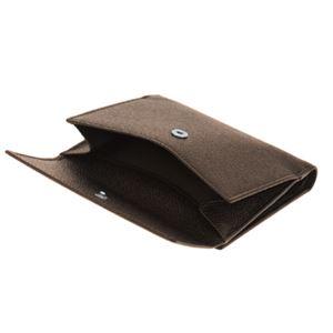 Bvlgari (ブルガリ) 22554 PIGSKIN/BRW 二つ折り財布 f06