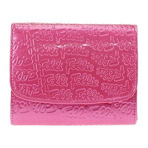FOLLI FOLLIE (フォリフォリ) WA0L026SP/ROSE PNK 二つ折り財布 h01