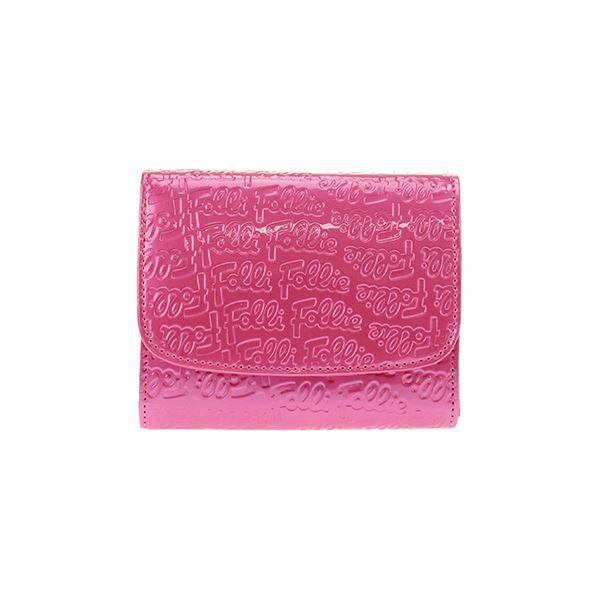 FOLLI FOLLIE (フォリフォリ) WA0L026SP/ROSE PNK 二つ折り財布f00