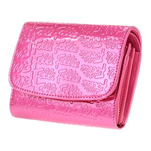 FOLLI FOLLIE (フォリフォリ) WA0L026SP/ROSE PNK 二つ折り財布画像2