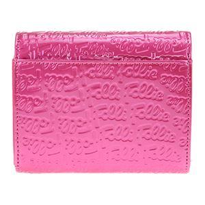 FOLLI FOLLIE (フォリフォリ) WA0L026SP/ROSE PNK 二つ折り財布画像3