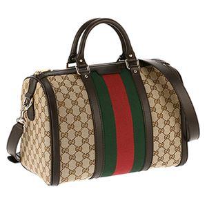 Gucci (グッチ) 247205-KQW5G/9791 ボストンバッグ   - 拡大画像