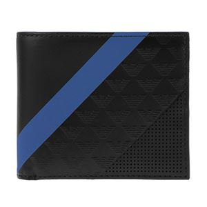 Emporio Armani (エンポリオ・アルマーニ) YEM122-YKS2V/81072 二つ折り財布
