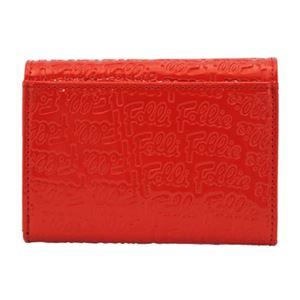FOLLI FOLLIE (フォリフォリ) WA0L026SR/RED 二つ折り財布  画像2
