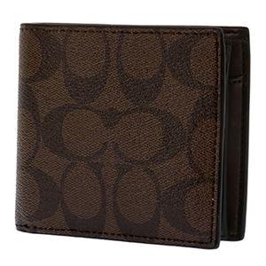Coach (コーチ) F75006/MA/BR/1 二つ折り財布