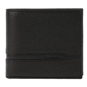 Bvlgari (ブルガリ) 36964 GRAIN/BLK 二つ折り財布