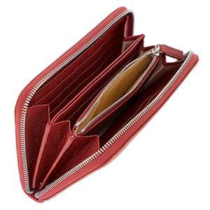 Bvlgari (ブルガリ) 37340 GRAIN/RUBY 長財布