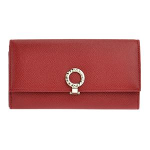 Bvlgari(ブルガリ)33889GRAIN/RUBYRED長財布