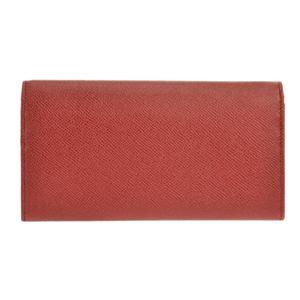 Bvlgari (ブルガリ) 33889 GRAIN/RUBY RED 長財布