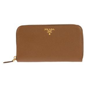 Prada (プラダ) PRADA 1M0506 V/PHE/CANNELLA 長財布
