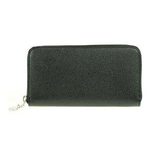 Bvlgari (ブルガリ) 20886 GRAIN/BLK 長財布