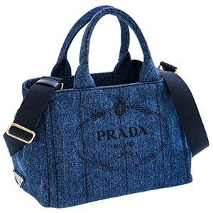 Prada(プラダ)1BG439DENIM/BLEU手提げバッグ