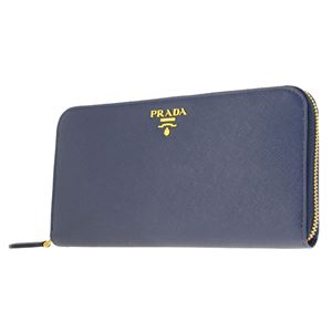 Prada (プラダ) 1ML506 S/ME/BLUETTE 長財布