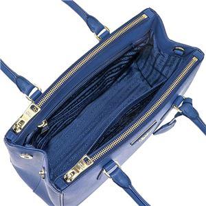 Prada (プラダ) 1BA863 S/LU/AZZURRO 手提げバッグ
