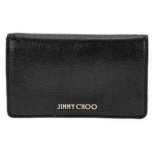 Jimmy Choo (ジミーチュウ) MARLIE GRZ/BLK 二つ折り財布