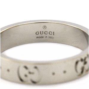 Gucci (グッチ) 073230-09850/9000/19 リング 日本サイズ18号 サイズ刻印 19