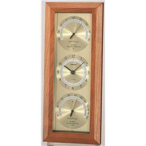 スーパーEX温度・時計・湿度計 EX-741 - 拡大画像