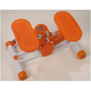 バランスステッパー FS-01 ソフトタイプ(オレンジ・ホワイト) - 拡大画像