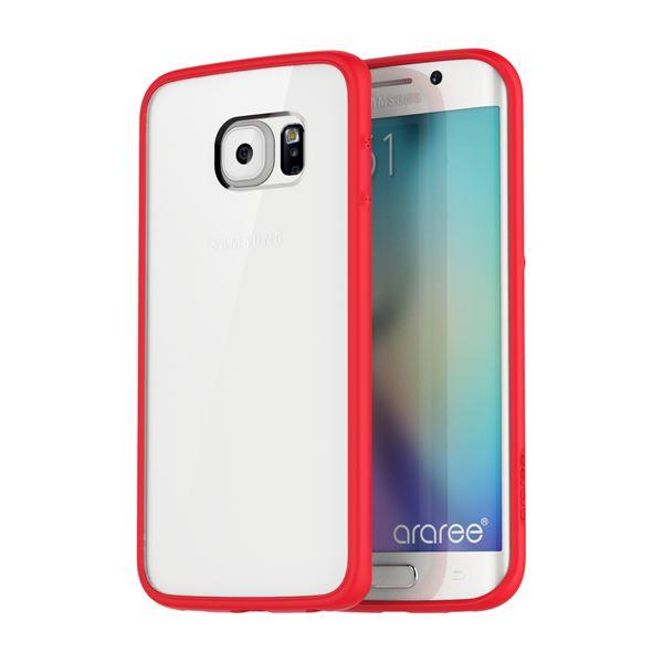 【Galaxy S6 edge ケース】araree Hue Plus(アラリー ヒュープラス) AR6199GS6E レッドf00