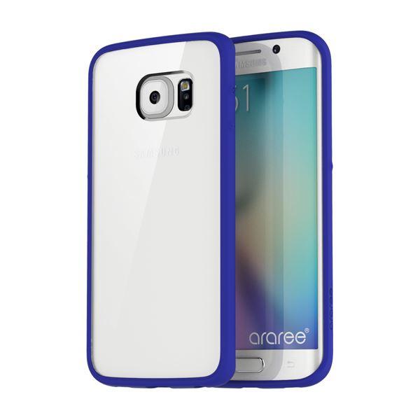 【Galaxy S6 edge ケース】araree Hue Plus(アラリー ヒュープラス) AR6200GS6E ブルーf00
