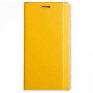 【Galaxy S6 edge ケース】Chabel Sherbet Diary(シャーベットダイアリー) CB3263GS6E イエロー+レッド