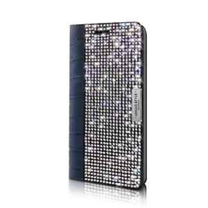 【Galaxy S6 edge ケース】Wannabe Leather Diary(ワナビーレザーダイアリー) DP6328GS6E ネイビー