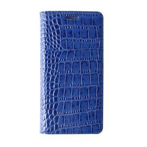【Galaxy S6 ケース】GAZE Vivid Croco Diary(ゲイズ ビビッドクロコダイアリー) GZ6095GS6 コバルトブルー